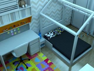 Dormitório infantil por Franka Arquitetura Moderno
