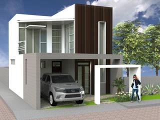 Casa Uno: Casas de estilo  por AM  Arquitectura