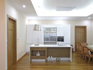 양평군 봉상리 중목구조주택 (90PY): 한다움건설의  주방
