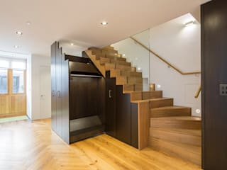 8 Harley Place Country style corridor, hallway& stairs by Sonnemann Toon Architects Country