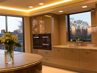 Exeter Penthouse:  Kitchen by Intelligent Abodes Limited