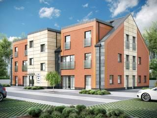 Biurowiec: styl , w kategorii Domy zaprojektowany przez Biuro architektoniczne KB Projekt