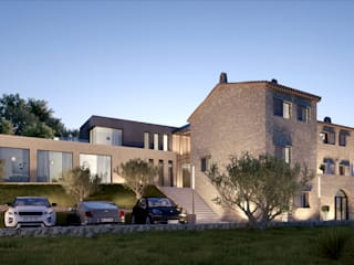 Case in stile  di Brengues Le Pavec architectes,
