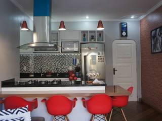 Transformação: Cozinhas  por ARQUITETO E URBANISTA BRUNO FERREIRA,Moderno