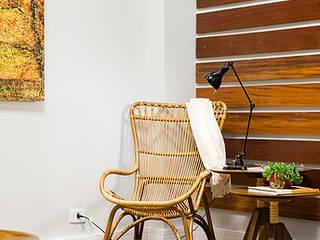 Living Salas de estar rústicas por GP STUDIO DESIGN DE INTERIORES Rústico