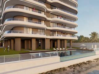 Conacry Sea Piscinas modernas por Atelier 72 - Arquitetura, Lda Moderno