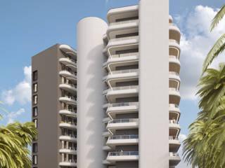 Conacry Sea Casas modernas por Atelier 72 - Arquitetura, Lda Moderno