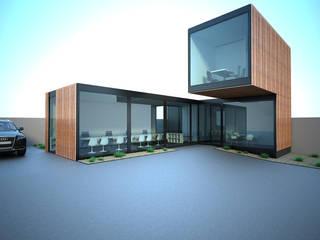 A forma pela forma: Stands de automóveis  por Atelier 72 - Arquitetura, Lda