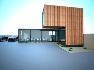 Corten Box Stands de automóveis modernos por Atelier 72 - Arquitetura, Lda Moderno