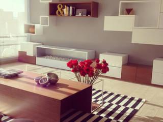 LOS ROSALES:  de estilo  por D Interior