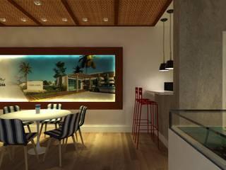 PLANTÃO DE VENDAS PDL - IMBITUBA SC Cozinhas modernas por Arching - Arquitetos Associados Moderno