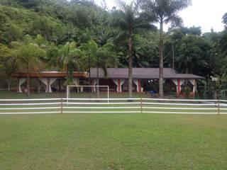 SALÃO DE FESTAS RB - BLUMENAU SC Casas modernas por Arching - Arquitetos Associados Moderno
