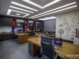 Sala da Diretoria - Empresa de Ti: Espaços comerciais  por Camarina Studio