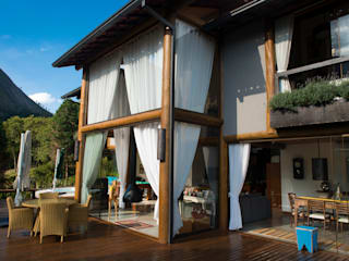 Casas de estilo  por Giselle Wanderley arquitetura, Rural
