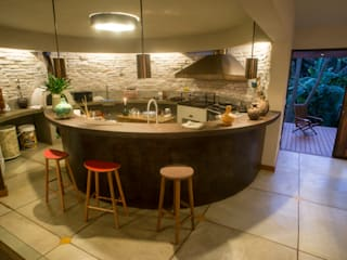 Giselle Wanderley arquitetura Dapur Modern