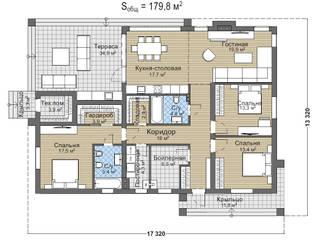 Нуара_179 кв м:  в . Автор – Vesco Construction