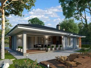 Лури_171 кв.м: Загородные дома в . Автор – Vesco Construction