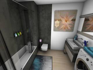 Décoration d'un appartement: Salle de bains de style  par Crhome Design