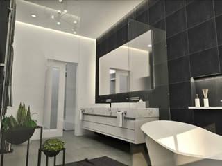 Diseño interior - Baño principal: Baños de estilo  por Summa Arquitectura