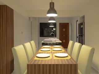Modern dining room by Designer House Modern