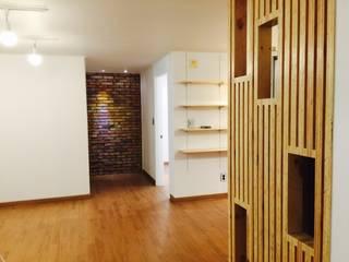LNID Couloir, entrée, escaliers modernes