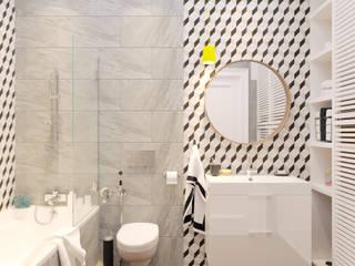 Ванная комната: Ванные комнаты в . Автор – FLATFORFOX