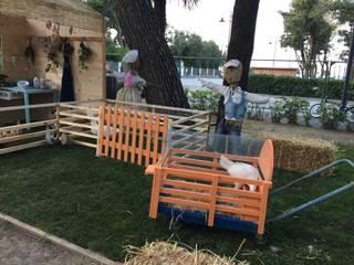 NellAia: Giardino in stile In stile Country di Ramina Studio