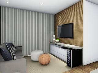 Livings de estilo  por TR Interiores, Moderno