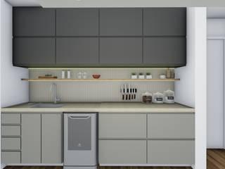 Cocinas de estilo  por TR Interiores, Moderno