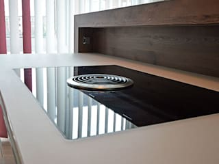 Glascouture by Schenk Glasdesign CucinaElettronica Vetro Nero