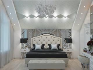 дизайн спальни: Спальни в . Автор – студия дизайна 'план и дизайн'