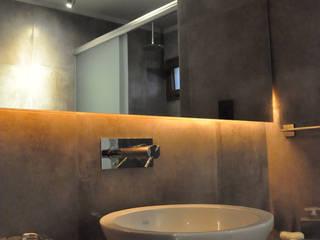 Remodelación baño y vestidor : Baños de estilo moderno por Borio Arquitectura y Diseño