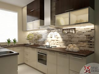 KITCHEN VIEW :  Kitchen by MAD DESIGN