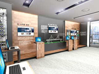Modern offices & stores by 아임커뮤니케이션즈 Modern
