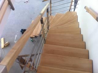 Roble Modern corridor, hallway & stairs