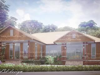 บ้านพักอาศัยชั้นเดียว อ.ขามสะแกแสง จ.นครราชสีมา โดย fewdavid3d-design