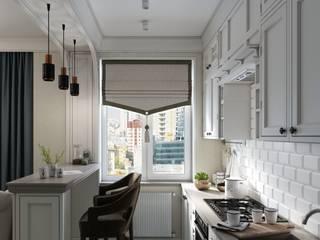 Уютная квартира на Хамовническом Валу Москва :  в . Автор – Дизайн Мира