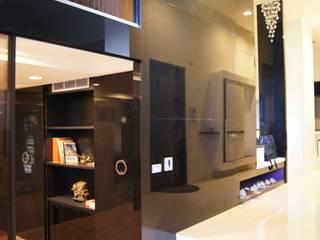 07 欣成室內裝修設計股份有限公司 現代風玄關、走廊與階梯