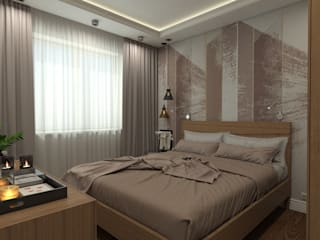 Eclectic style bedroom by AM Design Eclectic