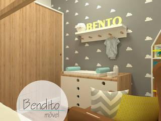 โดย Bendito Móvel - Projetos e Móveis Planejados