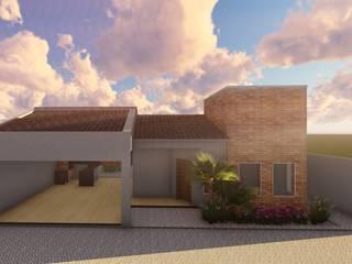 Residencia ER por Tauana Rodrigues Arquitetura e Interiores
