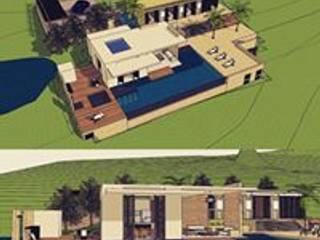 Casa Anapoima: Casas de estilo  por Heritage Design Group, Moderno