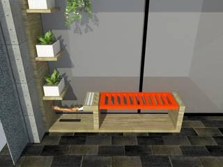 Mueble terraza:  de estilo  por Heritage Design Group, Minimalista