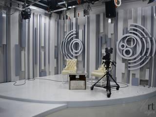Студия для утренних шоу телеканала «Миллет» от Арт-Идея