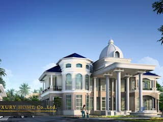 Casas multifamiliares de estilo  por HOME