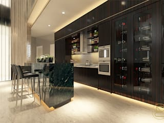 Modern Home Wine Cellar by Arci Design Studio Modern