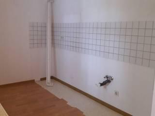 Küche vorher:   von Wohnjuwel Home Staging