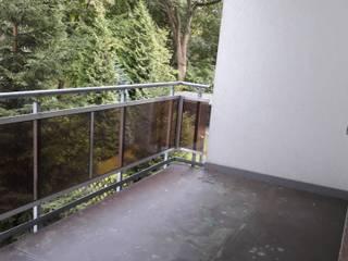 Balkon vorher:   von Wohnjuwel Home Staging