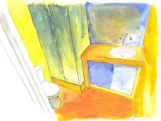 LAvatório: Casas de banho  por Rodrigo Roquette