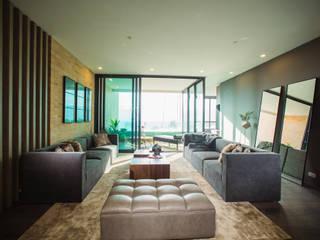 Munera y Molina Moderne Wohnzimmer